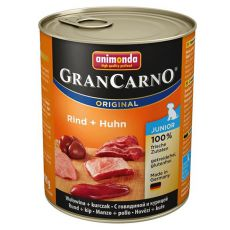 Feuchtnahrung GranCarno Original Junior Rind + Huhn - 800g