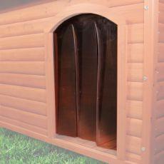 Kunststofftür für Hundehütte NATURA M, 22 x 35cm
