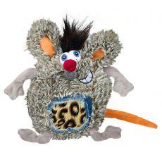 Hundespielzeug - Ratte, Plüsch, 17 cm