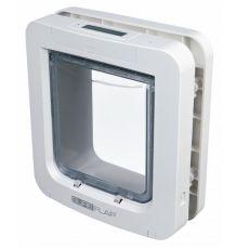Freilauftür mit Mikrochip-Erkennung SureFlap, weiß - 26,2 x 28,1 cm