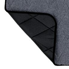 Thermo Liegedecke für Hunde, grau - 70x50cm