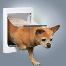 Freilauftür für Hunde 2-Wege, XS - S, 25 x 29 cm