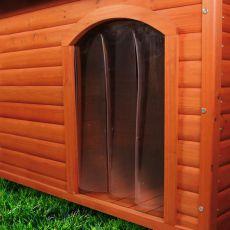 Kunststofftür für Hundehütte - 34x52cm