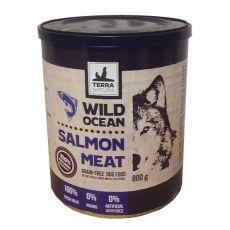 Feuchtnahrung Terra Natura Wild Ocean Salmon Meat 800g