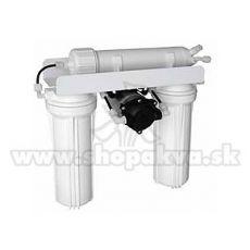 Osmose-Anlage mit Druckerhöhungspumpe (336l / Tag)
