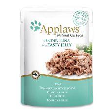Nassfutter APPLAWS Cat Pouch, Thunfisch in Jelly 70g