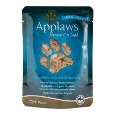 Feuchtnahrung APPLAWS Cat, Thunfisch und Sardellen 70g
