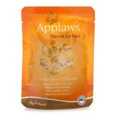 Feuchtnahrung APPLAWS Cat, Huhn und Kürbis 70g