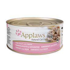 Feuchtnahrung APPLAWS Cat, Thunfisch und Krevetten 70g