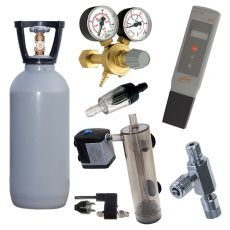 CO2 AAA Set 2kg + pH Meter GRATIS