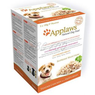 Feuchtnahrung APPLAWS dog SUPREME SELECTION 5x100g