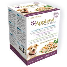 Beutel APPLAWS dog FINEST SELECTION 5x100g
