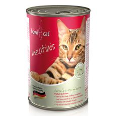 Nassfutter BEWI CAT Meatinis WILD, 400g
