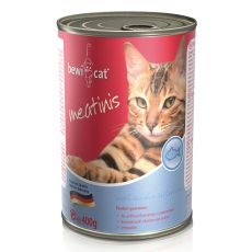 Nassfutter BEWI CAT Meatinis SALMON, 400g