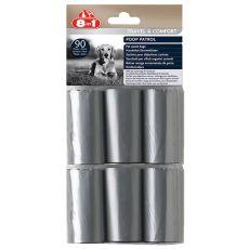 8in1 Nachfüllpacks für Hundekot - 6 x 15 Stk