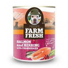 Farm Fresh - Salmon and Herring with Cranberries 375g