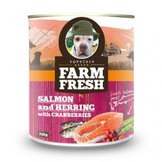 Farm Fresh - Salmon and Herring with Cranberries 750g