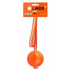 Hundespielzeug LIKER Line mit Schnur 7cm