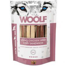 WOOLF Long Chicken and Cod Sandwich 100g