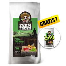 Farm Fresh Lamb and Peas GF 20 + 2kg GRATIS