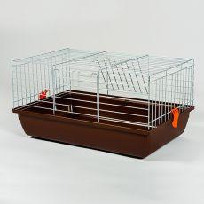 Käfig für Kaninchen und Meerschweinchen - Rabbit 60 chrom