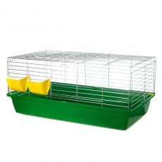Käfig für Hasen - Rabbit 100 chrom
