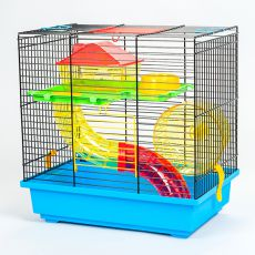 Käfig für Hamster TEDDY I mit Tunnel