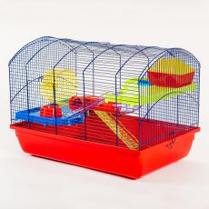 Käfig für Hamster VICTOR III mit Tunnel