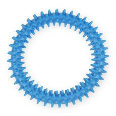 TPR Gummiring mit Noppen - blau 12,5cm