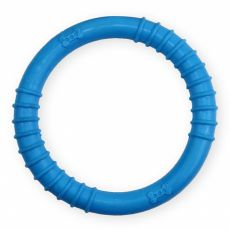 TPR Gummiring mit Noppen - blau 9,5cm