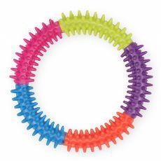 TPR Dentalspielzeug mit Noppen für Hunde - Kreis, 15cm