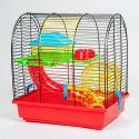 Käfig für Hamster - GRIM II mit Tunnel