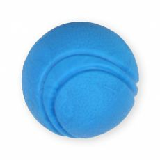 TPR Hundespielzeug - blauer Tennisball, 5cm