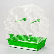 Käfig für Papagei MARGOT II - 50,5 x 28 x 54 cm