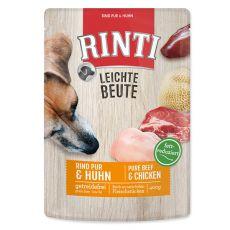 Frischbeutel RINTI Leichte Beute Rind + Hühnerfleisch, 400g