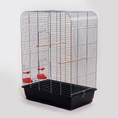 Käfig für Papagei NINA chrom - 54 x 34 x 75 cm