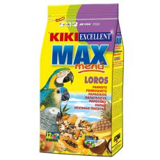 KIKI MAX MENU - Futter für große Papageien 800g