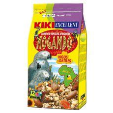 KIKI MOGAMBO - Futter für afrikanische Papageien 800g