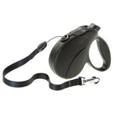 Hundeleine Amigo Easy Large bis 50kg - 5m Seil, schwarz