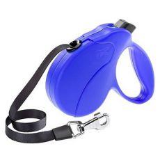 Führleine Amigo Easy Mini bis 12kg - 3m Gurt, blau
