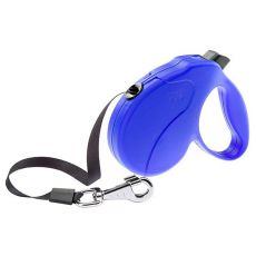 Führleine Amigo Easy Medium bis 25kg - 5m Gurt, blau