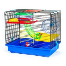 Käfig für Hamster GINO TEDDY LUX I mit Tunnel