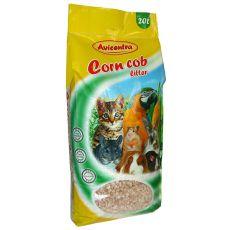 Maiseinstreu Corn Cob Litter, 20 L - grob