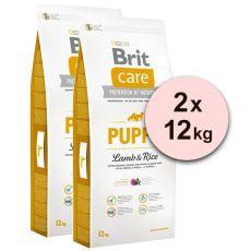 Brit Care Puppy Lamb & Rice 2 x 12kg