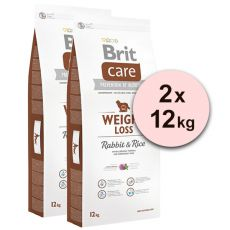 Brit Care Weight Loss - Rabbit & Rice 2 x 12kg