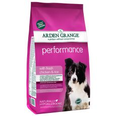 ARDEN GRANGE Performance with fresh chicken & rice, 12 kg