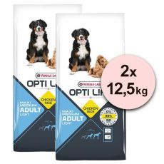 Versele Laga Opti Life Adult Light Medium & Maxi 2 x 12,5kg
