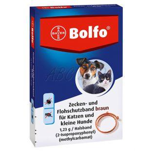 Antiparasiten-Halsband BOLFO für kleine Hunde und Katzen, 35 cm