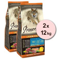 Primordial GF ADULT - Ente und Forelle 2 x 12 kg