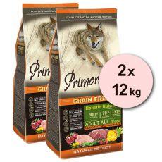 Primordial GF ADULT - Wild und Pute 2 x 12 kg